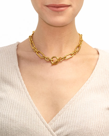 Image 2 of 2: Short Chain-Link Necklace
