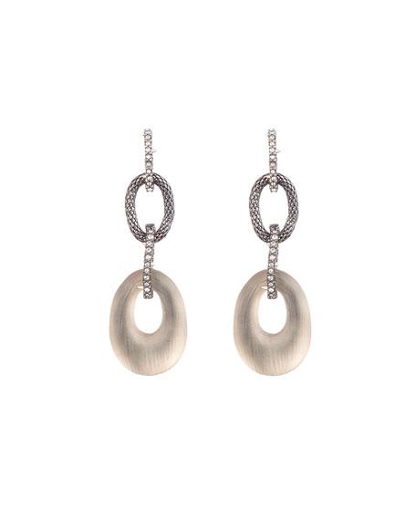 Alexis Bittar Tube Mesh Multilink Earrings