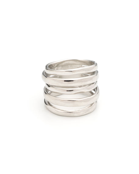 Image 2 of 2: Alexis Bittar Layered Ring, Size 6-8