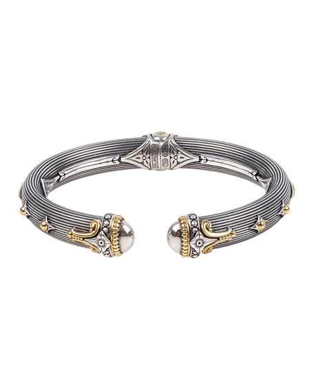 Image 1 of 3: Konstantino Delos Two-Tone Hinged Bracelet, Size M