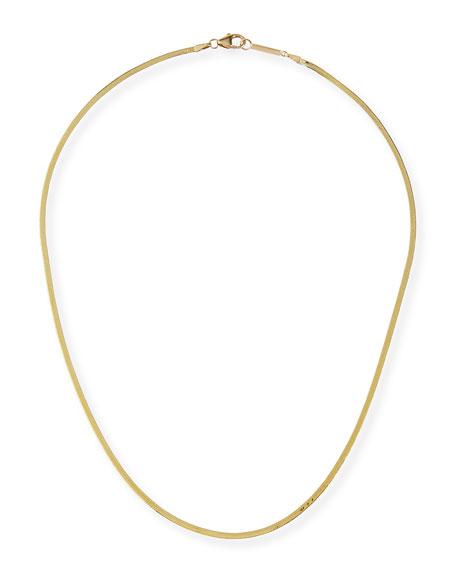 LANA 14k Liquid Gold Thin Chain Choker