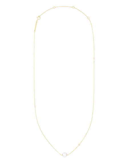 Kendra Scott Cathleen Short Pearl Pendant Necklace