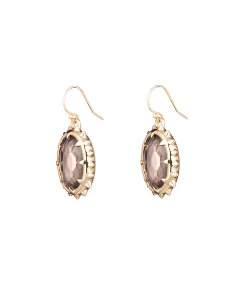 Alexis Bittar Georgian Stone Wire Earrings