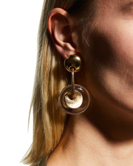 Gas Bijoux Amalfi Circular Drop Earrings