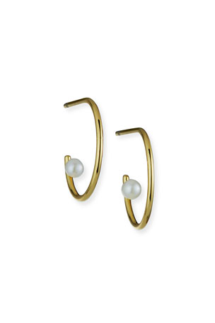 Tai Pearl Hoop Earrings