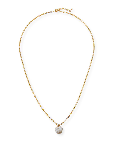Tai Chunky Chain Pearl Necklace