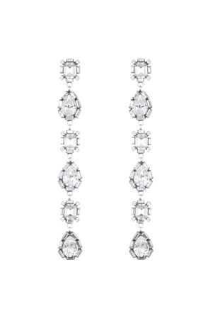 Dannijo Jodes Crystal Dangle Earrings