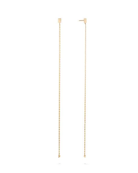 LANA 14k Linear Malibu Earrings