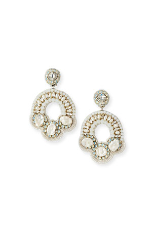 Ranjana Khan Gianna Clip-On Earrings