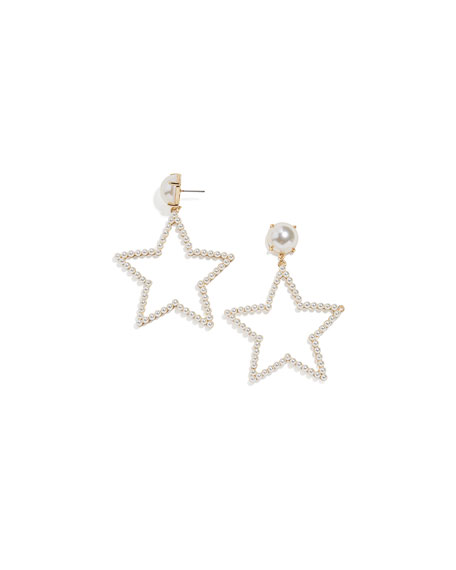 BaubleBar Grace Star-Drop Earrings