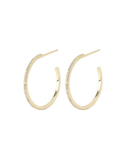gorjana Shimmer Small Hoop Earrings