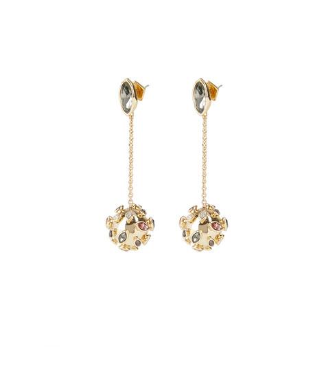 Alexis Bittar Sputnik Chain Drop Post Earrings