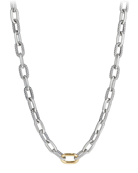 David Yurman Madison Chain 11mm Medium Link Necklace