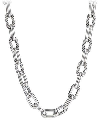 Madison Chain 13.5mm Large Link Necklace, 18