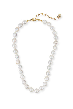 Lulu Frost Baroque Pearl Necklace
