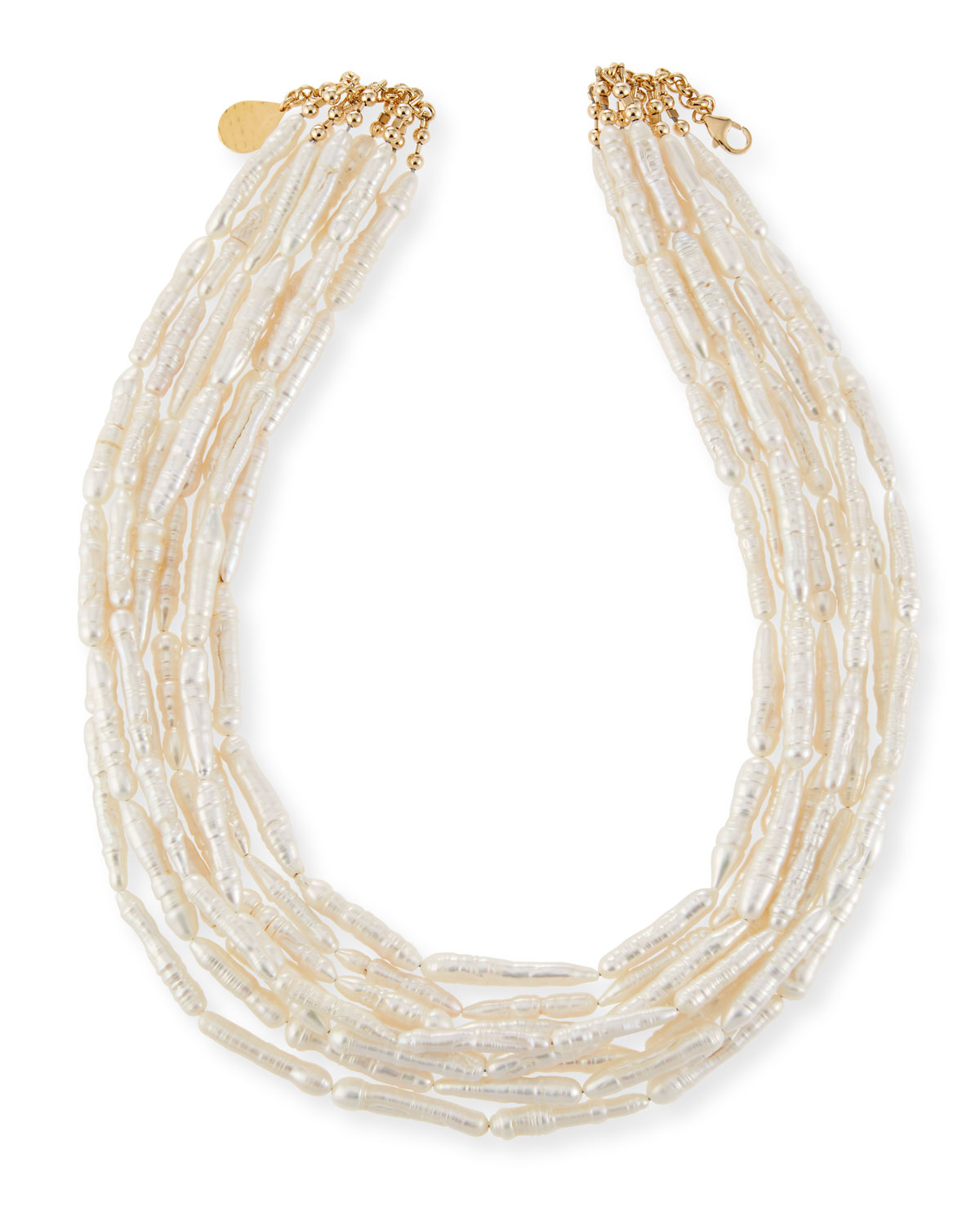Devon Leigh Freshwater Pearl Branch Multi-Strand Necklace