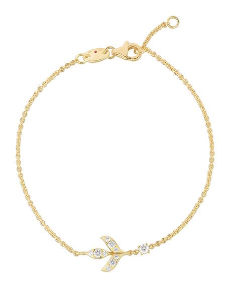 Roberto Coin x Disney's Frozen 2 18k Gold Wheat Bracelet