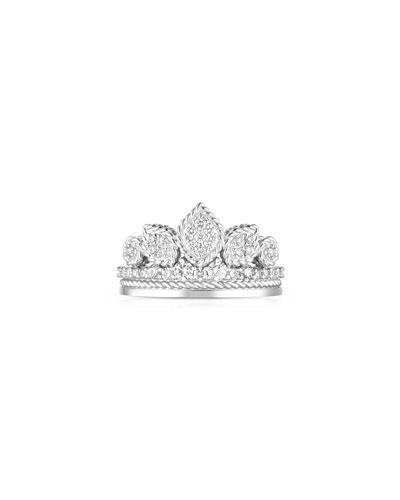 x Disney Cinderella Diamond Tiara Ring, Size 6.5