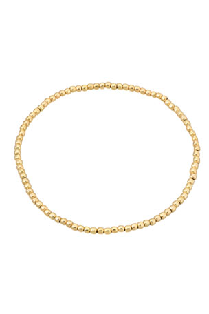 Zoe Lev Jewelry 14k Gold-Fill 3mm Bead Bracelet
