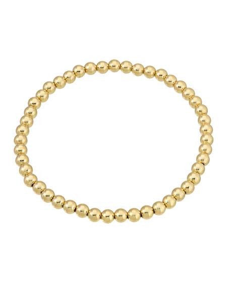 Zoe Lev Jewelry 14k Gold 4mm Bead Bracelet
