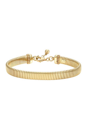 Zoe Lev Jewelry 14k Gold Large Coil Chain Bracelet