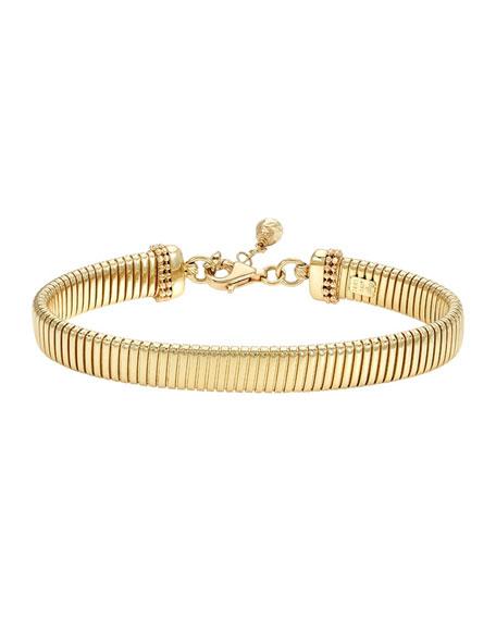 Zoe Lev Jewelry 14k Gold Large Coil Chain Bracelet