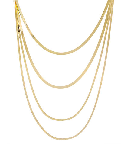 4-in-1 Snake Chain Necklace