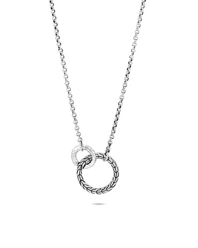 Classic Chain Interlocking Necklace