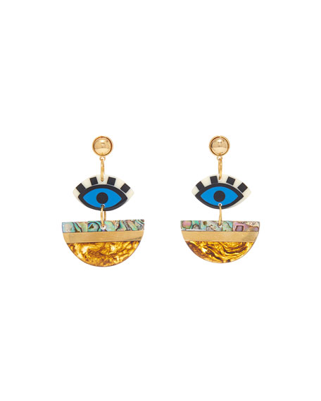 Mignonne Gavigan Eden Geometric Drop Earrings