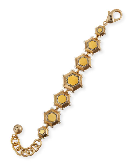 Image 1 of 2: Lulu Frost Holly Nectar Line Bracelet