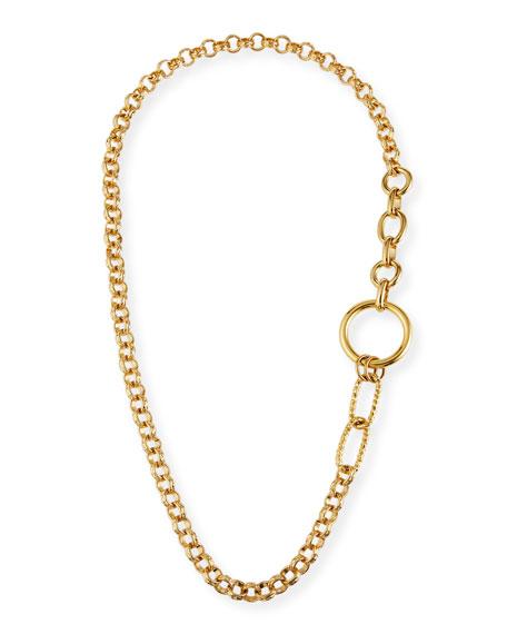 Devon Leigh Long Multilink Chain Necklace