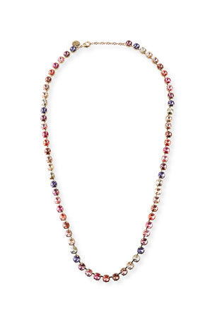 Rebekah Price Savannah Rainbow Crystal Necklace