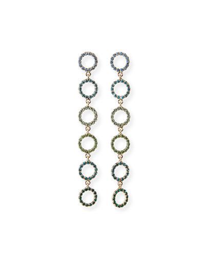 Claudia Crystal Drop Earrings