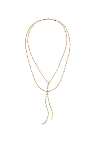 Lana 14k Mega Gloss Blake Double-Chain Necklace