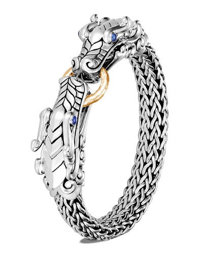 Legends Naga Double Dragon Head Bracelet