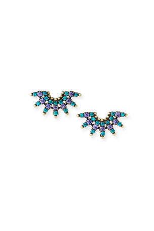 Auden Elsa Crystal Clip Earrings
