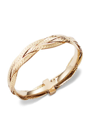 Lana 14k Braided Liquid Ring, Size 7