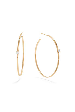 Lana 14k Gold 45mm Solo Magic Hoops