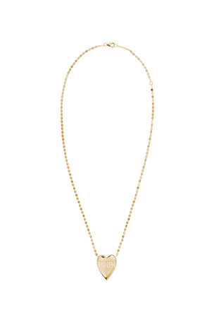 Lana 14k Taken Heart Pendant Necklace