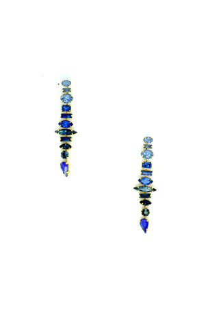 Elizabeth Cole Starla Crystal Earrings