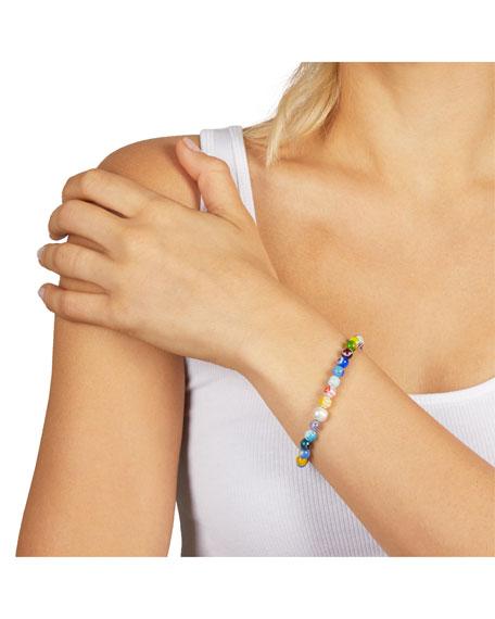 Rebecca Minkoff Rainbow Bead Slider Bracelet