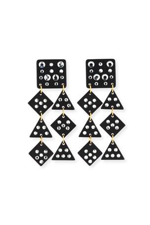 Lele Sadoughi Spotlight Chandelier Earrings