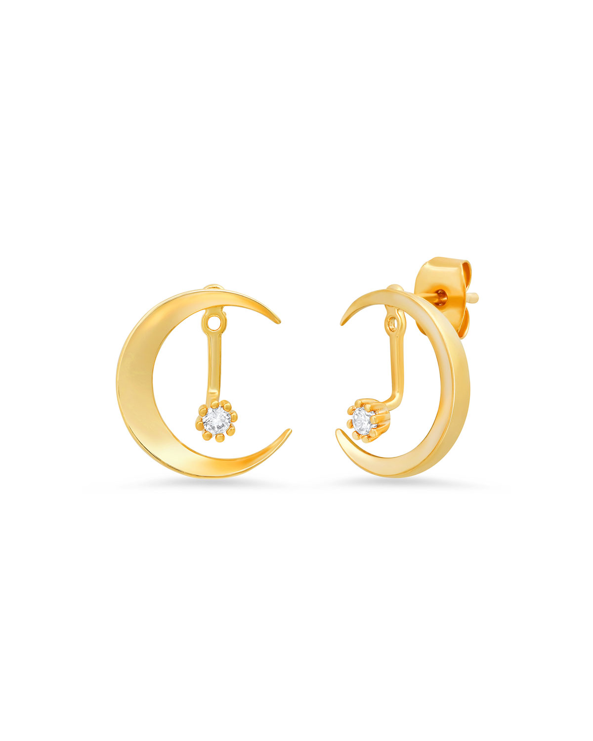 Tai Crescent Moon Earring Jackets