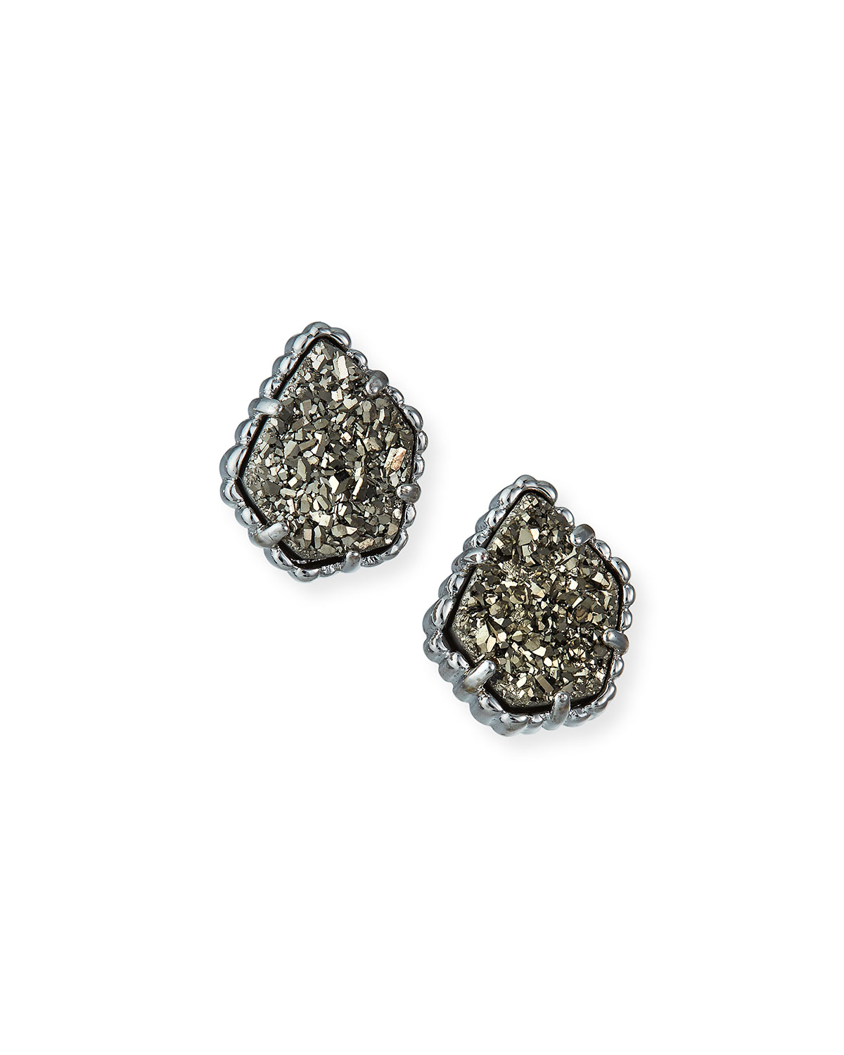 Kendra Scott Tessa Druzy Button Earrings