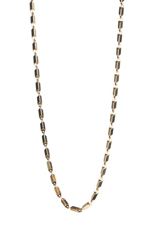 "Rebecca Minkoff Bar Chain Necklace, 24""L"