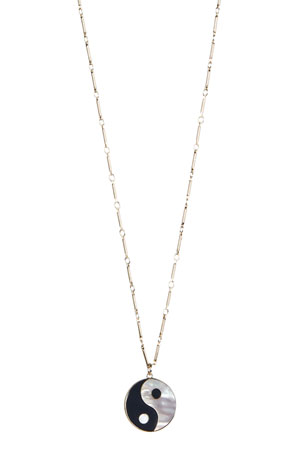 Rebecca Minkoff Large Yin Yang Necklace
