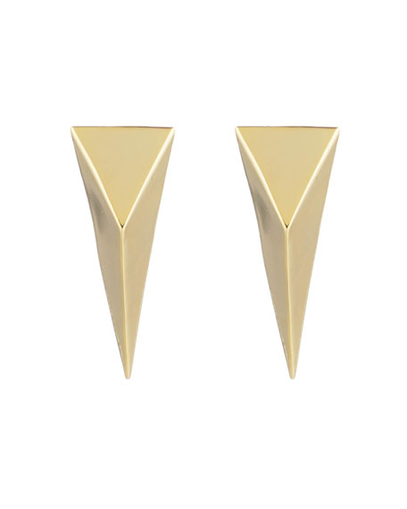 Image 2 of 2: Alexis Bittar Pyramid Clip Earrings