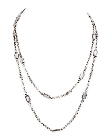Konstantino Hestia Rectangular Multi-Strand Necklace