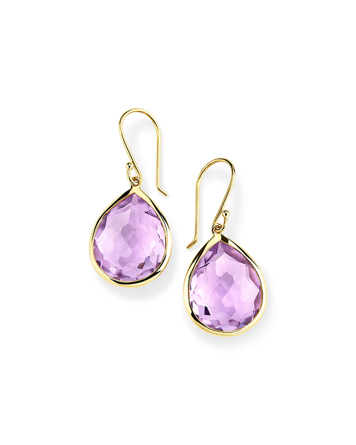 Ippolita Rock Candy Lollipop Teardrop Earrings in Amethyst