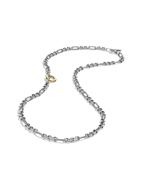 Cable Classics Figaro Necklace